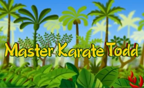 Master Karate Todd workout